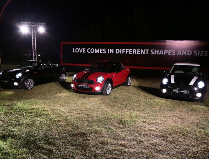 Launch of MINI Cooper