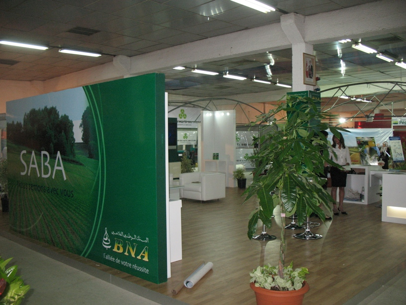 Organisation de foire, stand BNA