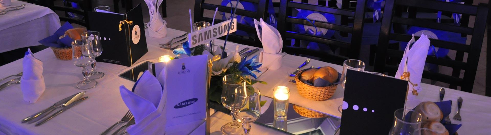 Soirée entreprise Samsung Tunisie par AskEvent