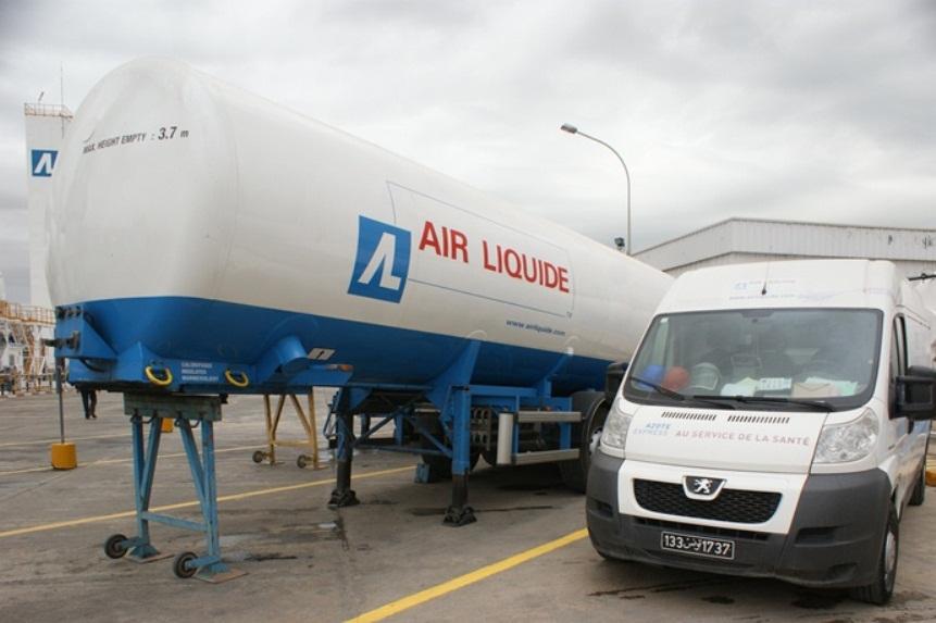 Inauguration Air Liquide Tunisie