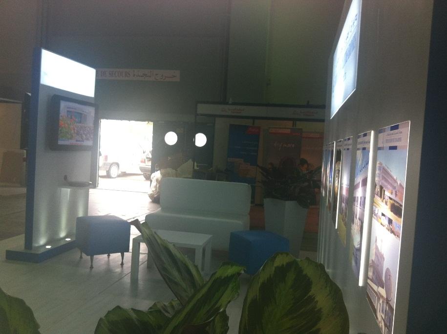 Aménagement de stand OACA par AskEvent Tunisie