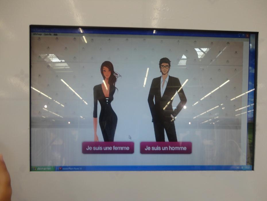 Opération marketing événementiel, publicité sur le point de vente Henkel