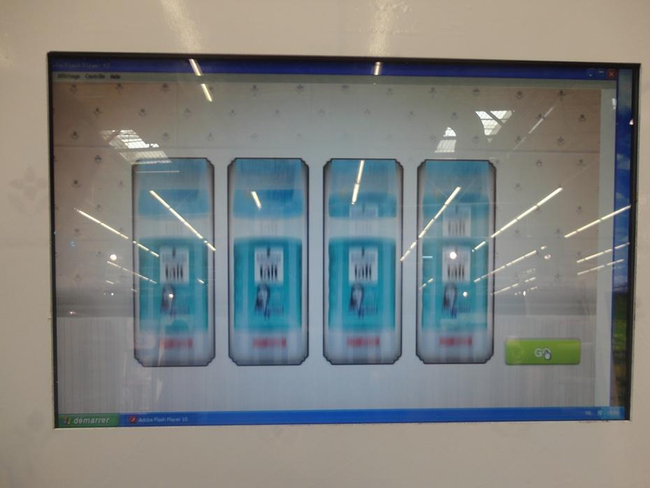Opération marketing événementiel, publicité sur le point de vente Henkel Tunisie