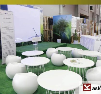 Arragement stand of the competition for agricultural innovation – SIAT 2016