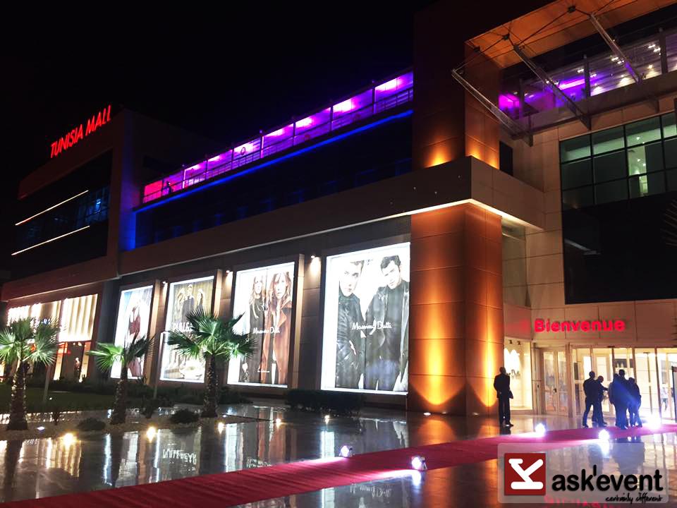 soirée jcc à tunisia mall