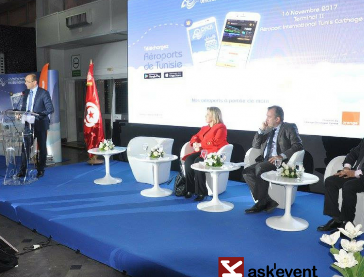 lancement de l'application mobile « Aéroports de Tunisie »