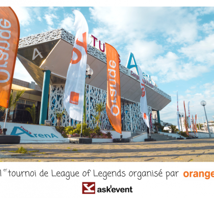The first League of Legends tournament organized by Orange