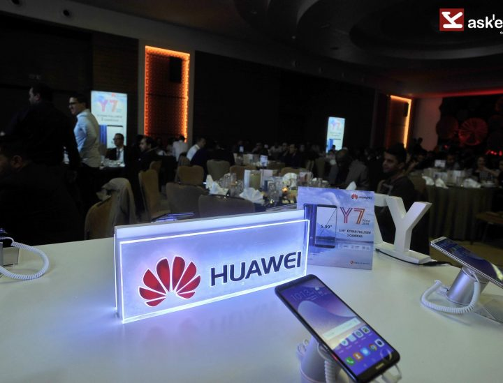 Launch of the new HUAWEI Y7 Prime