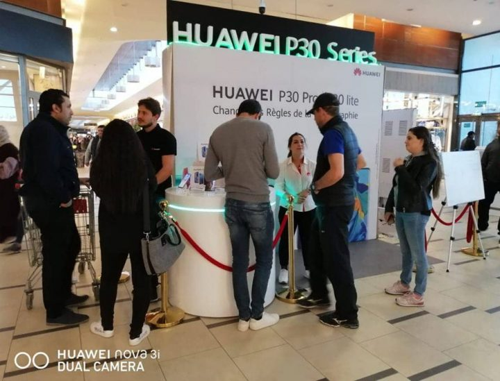 Street Marketing : Huawei P30
