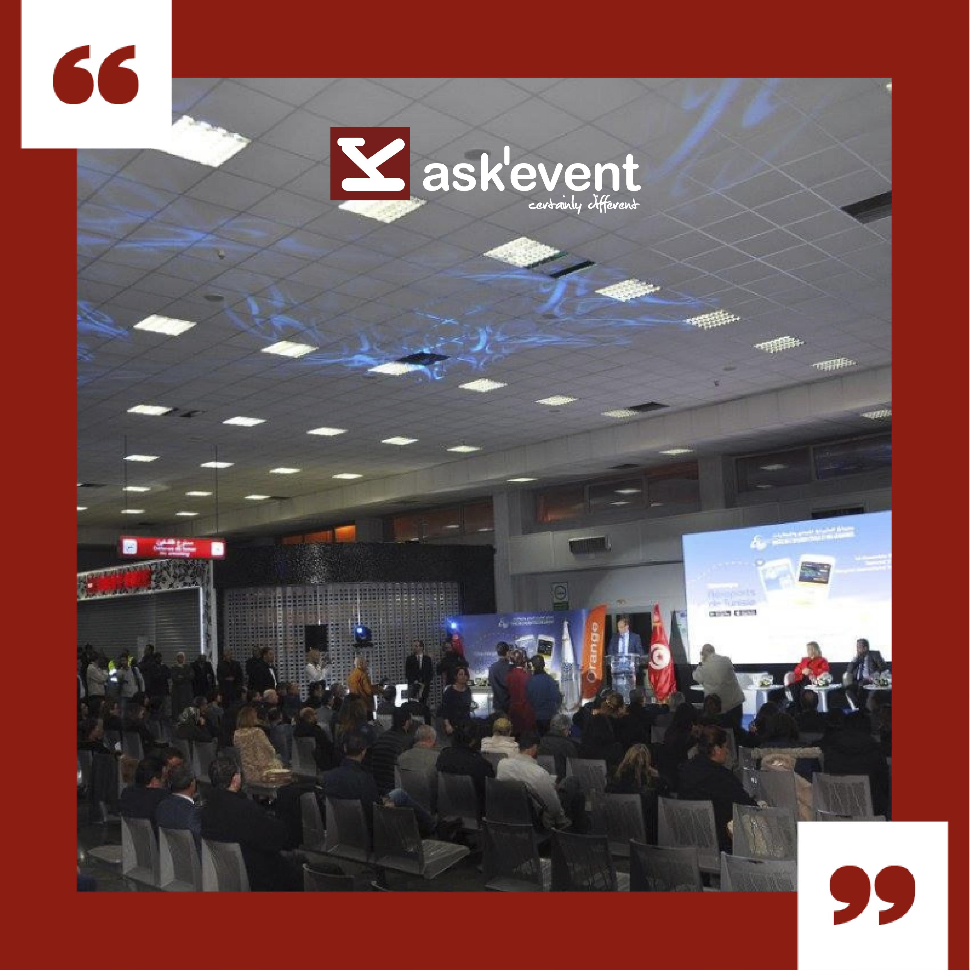 l'organisation d'une conférence en Tunisie 1